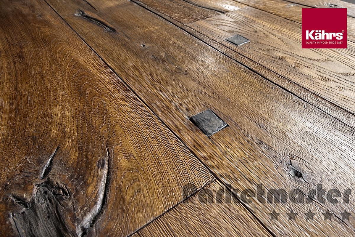 Eiken rustiek, oud hout design, deuvels: Sparuto. 1-strook. Natuur ...